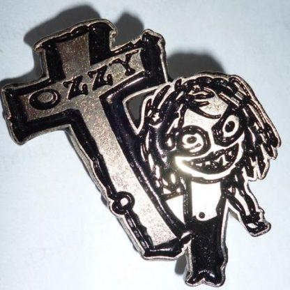 ozzy cartoon pin