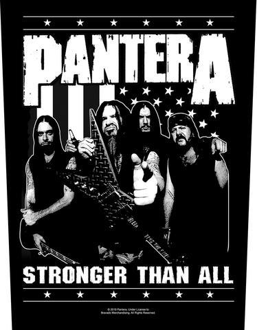 pantera stronger than all band
