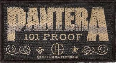 pantera whiskey label