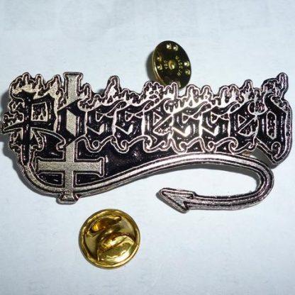 possessed logo pin