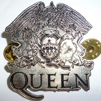 queen crest pin