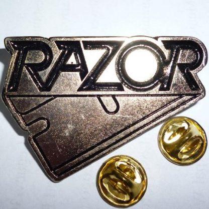 razor logo pin