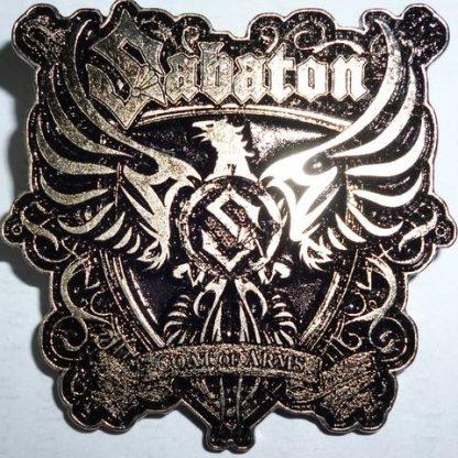 sabaton coat of arms pin