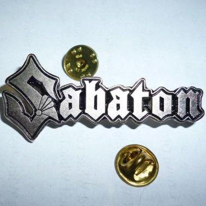 sabaton logo pin