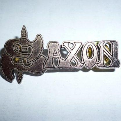 saxon logo pin