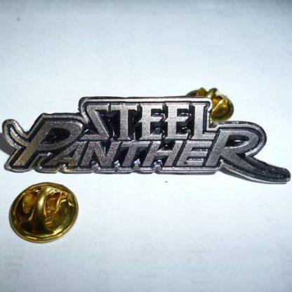 steel panther logo pin