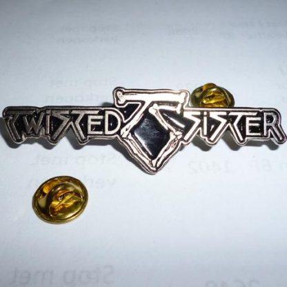 twisted sister logo pin