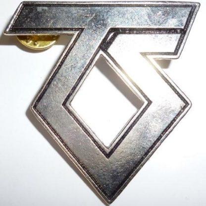 twisted sister ts logo pin