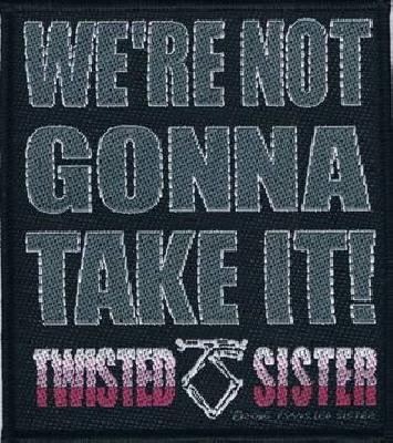 twisted sister were not gonna take it 1