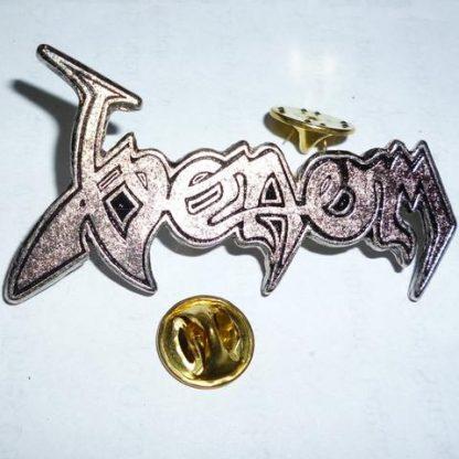 venom logo pin