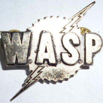 wasp logo pin