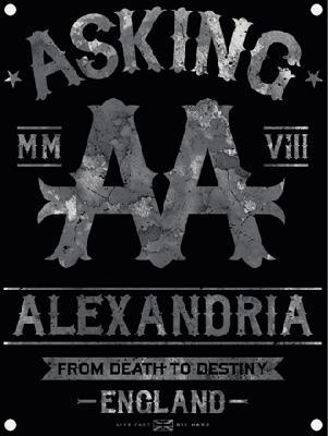 asking alexandria from death to destiny flag