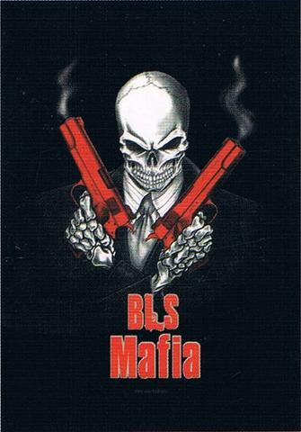 black label society maffia hitman flag