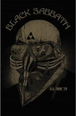 black sabbath us tour flag