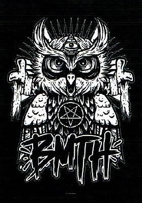 bring me the horizon bmth owl flag