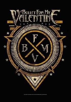 bullet for my valentine emblem flag