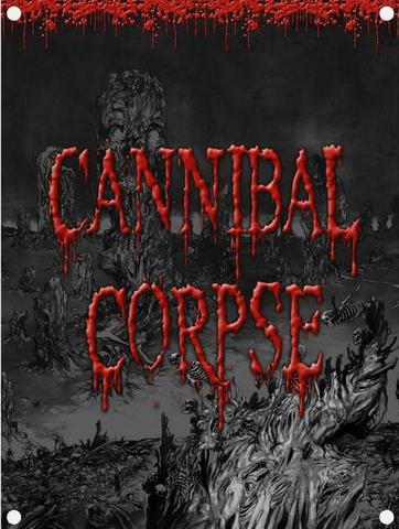 cannibal corpse skeletal domain flag