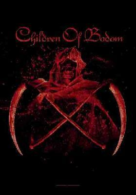 children of bodom scythes flag