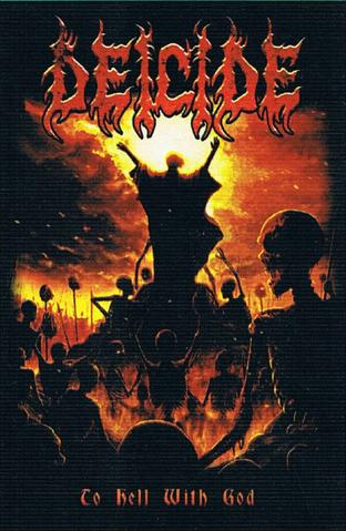 deicide to hell with god flag