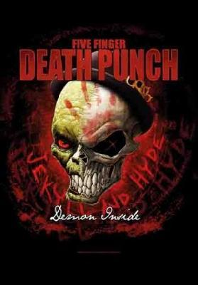 five finger death punch 5fdp ffdp demon inside flag