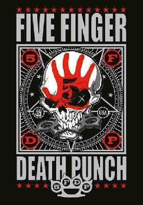 five finger death punch 5fdp ffdp punchagram flag