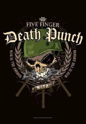 five finger death punch 5fdp ffdp warhead flag