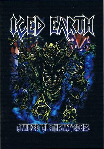 iced earth a wicked tale this way comes flag