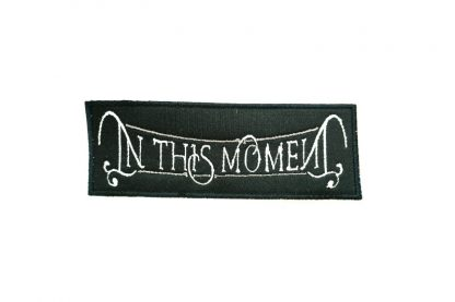 in this moment new logo patch