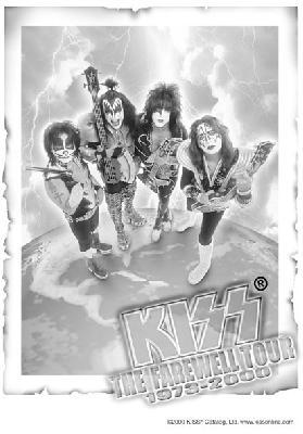 kiss the farewell tour 1978 200 flag