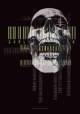 lacuna coil barcode skull flag