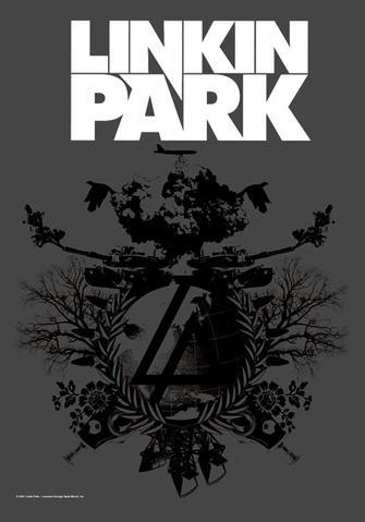 linkin park plan b flag
