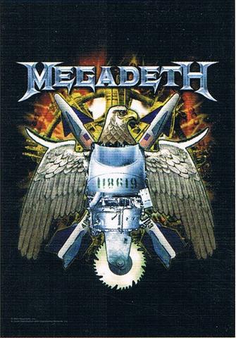 megadeth nuclear eagle flag