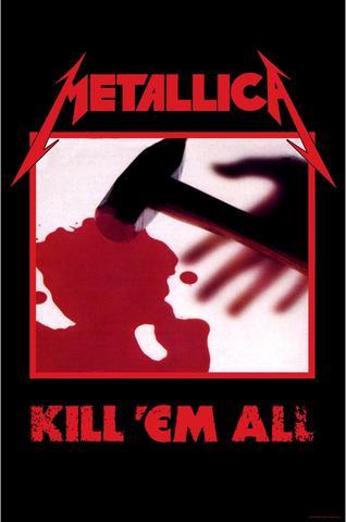 metallica kill em all flag