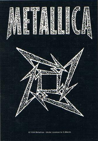 metallica ninja star flag