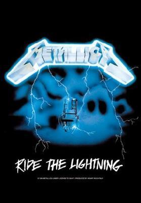 metallica ride the lightning flag