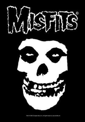 misfits fiend skull flag