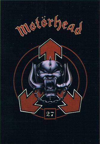 motorhead 27 years flag