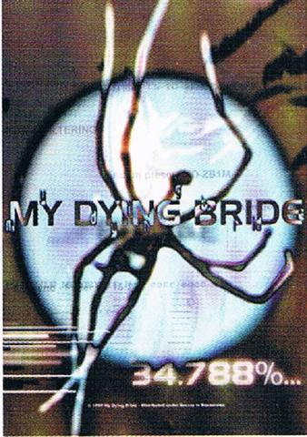 my dying bride spider flag