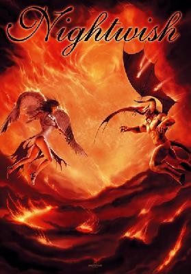 Nightwish Angel And Demon Flag