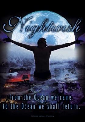 nightwish from the ocean we came to the ocean we shall return flag