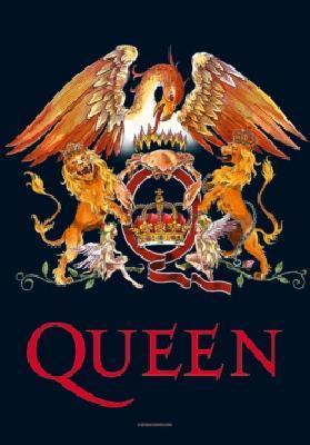 queen crest flag