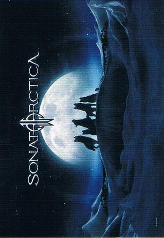 sonata arctica iced winterwolves flag