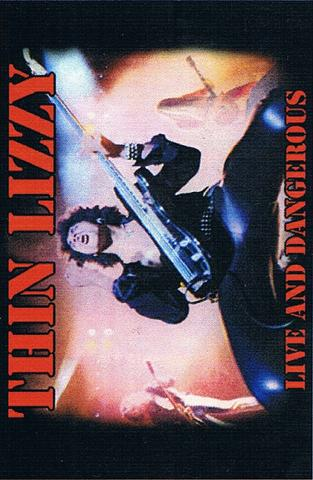 thin lizzy live and dangerous flag