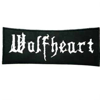 wolfheart logo patch