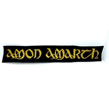 Amon Amarth Logo Strip Patch