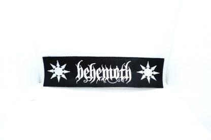 behemoth logo stripe patch