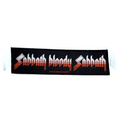 black sabbath sabbath bloody sabbath strip patch