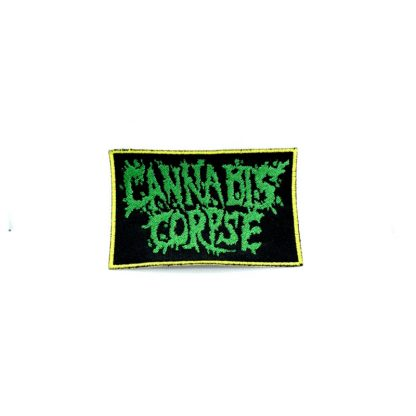 cannabis corpse logo patch