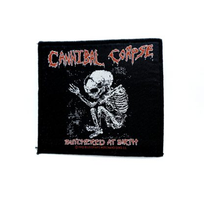 cannibal corpse butchered at birth foetus patch