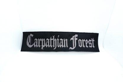carpathian forest logo stripe patch